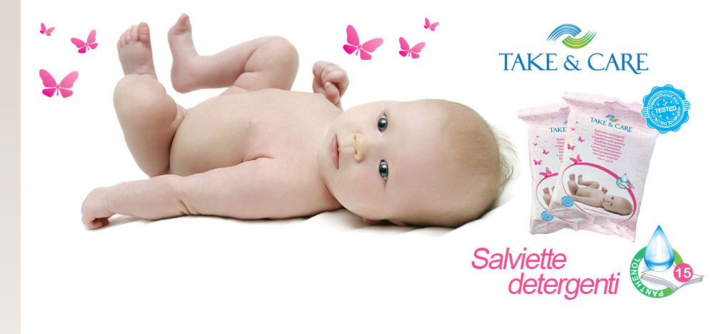 Salviette detergenti per neonati